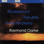 Shostakovich & Panufnik Piano Music