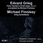 Grieg and Finnissy Piano Quintets