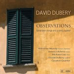 David Dubery: Observations