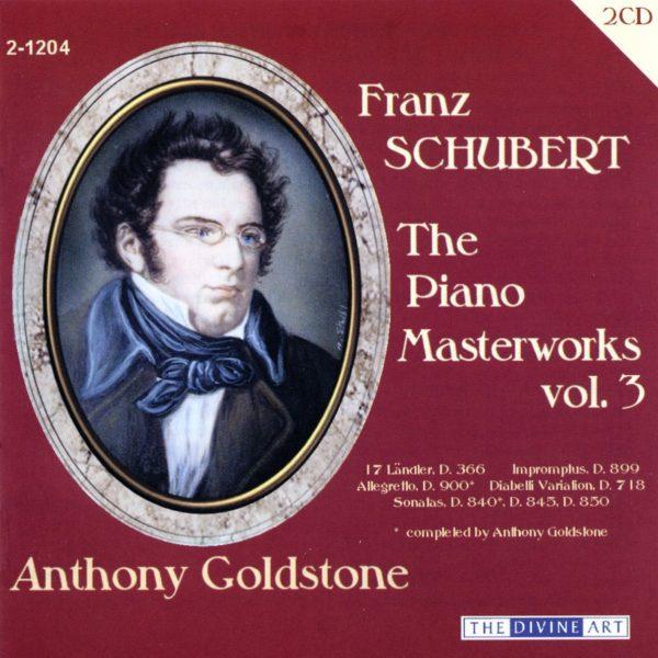 The Schubert Piano Masterworks, vol.3