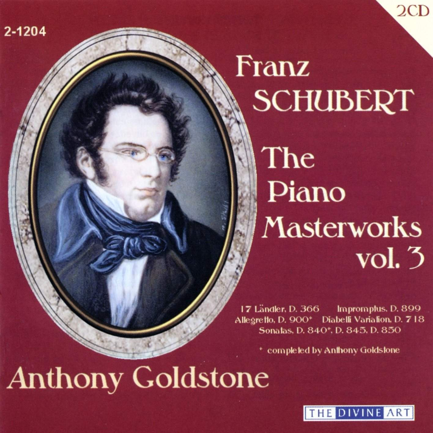 The Schubert Piano Masterworks, vol.3