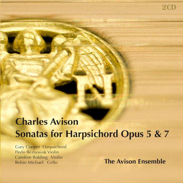 Avison: Harpsichord Sonatas, op. 5 & 7 (2CD)
