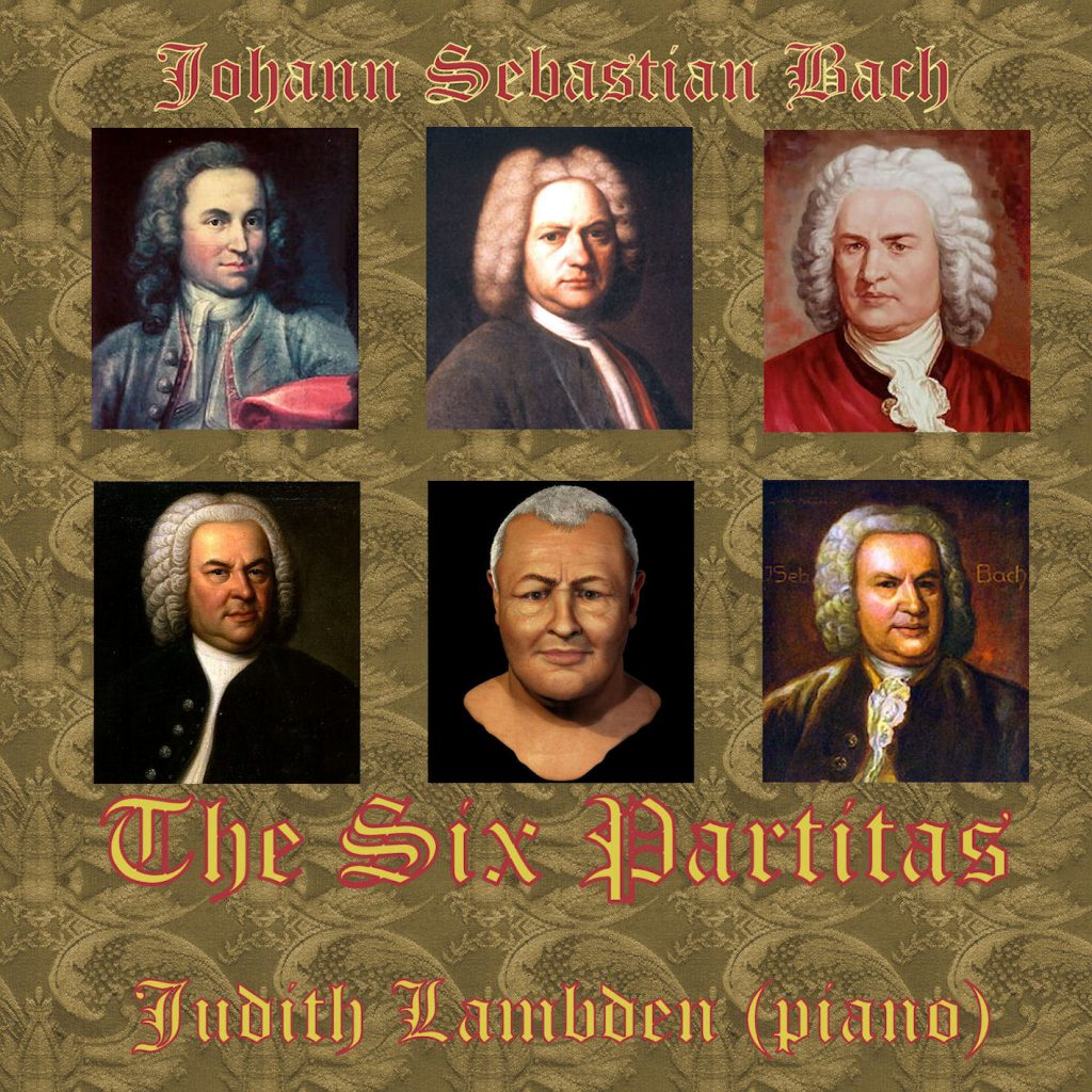 Amber Bach bach: the six partitas