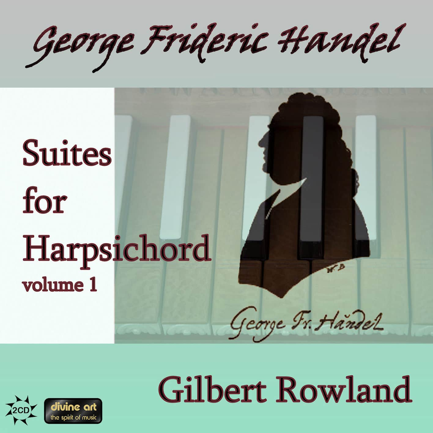 Handel: Suites for Harpsichord, vol. 1 (2CD)