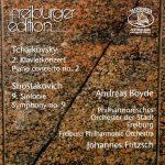 Tchaikovsky PC2/Shostakovich Sym. 9