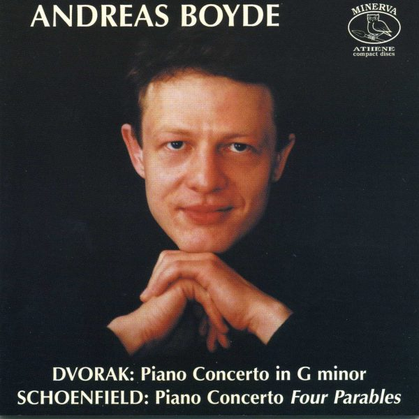 Dvorak and Schoenfield Piano Concertos
