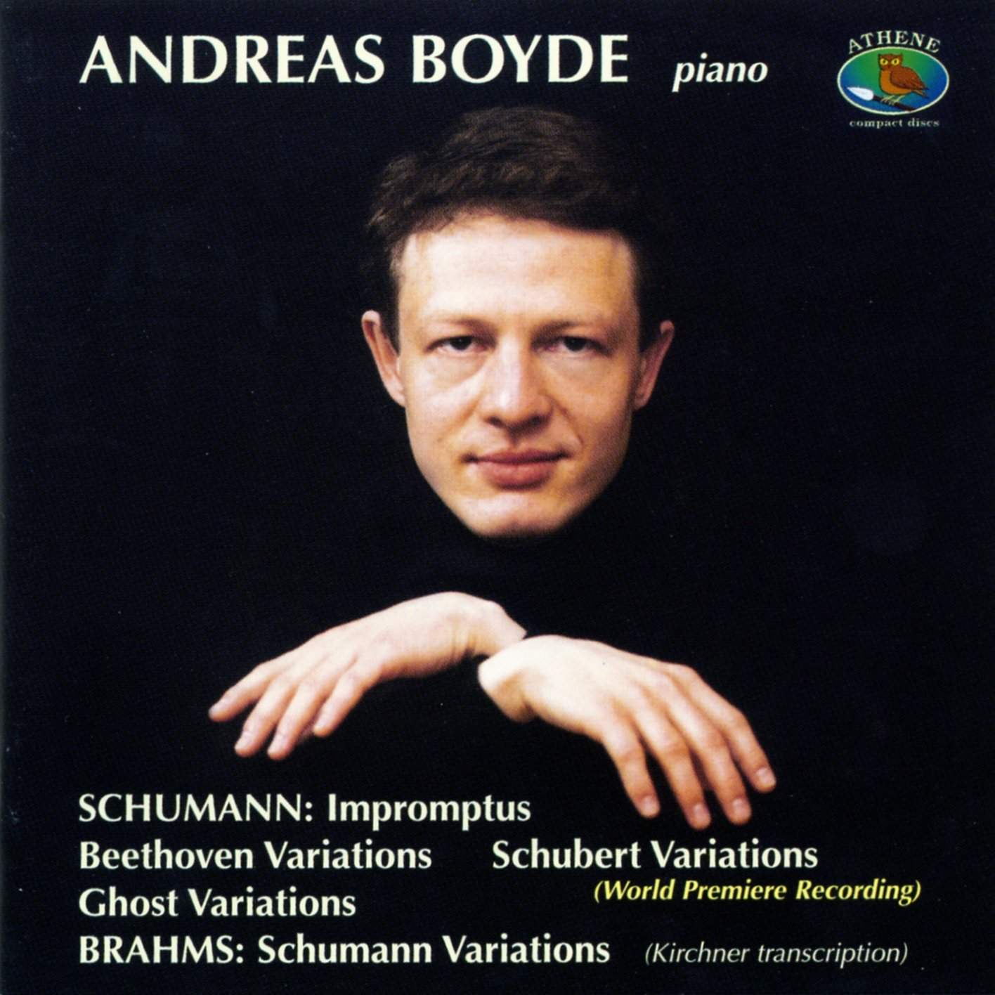 Schumann & Brahms: Variations