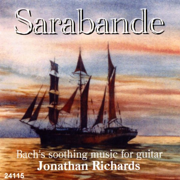 Sarabande: Bach for Guitar