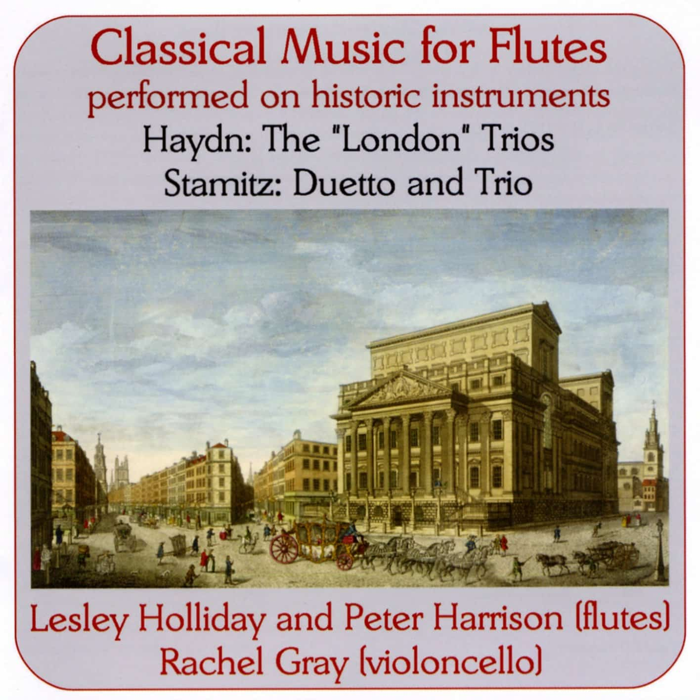 Haydn & Stamitz: Music for Flutes