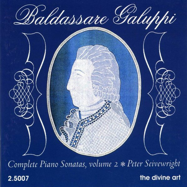 Galuppi Piano Sonatas, vol,2