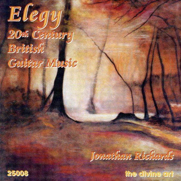 Elegy - 20th century British Guitar Music