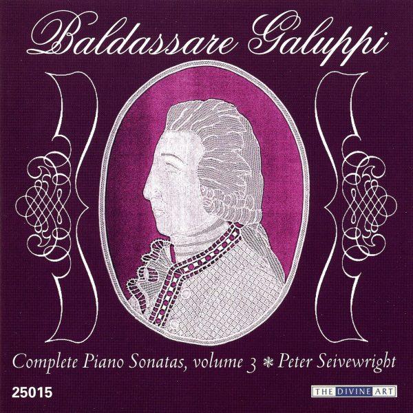 Galuppi Piano Sonatas, vol. 3