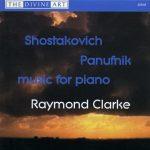 Shostakovich & Panufnik Piano Music
