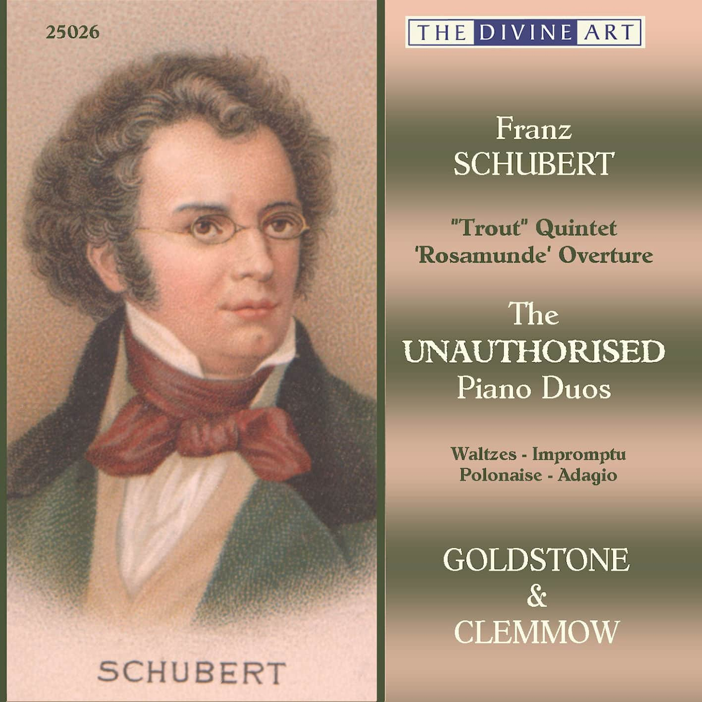 Schubert - The Unauthorised Piano Duos