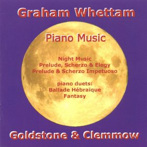 Graham Whettam Piano Music