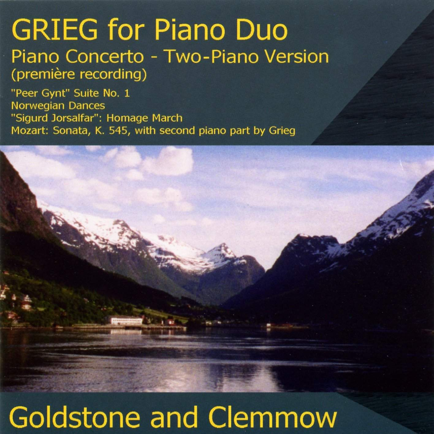 Grieg for Piano Duo