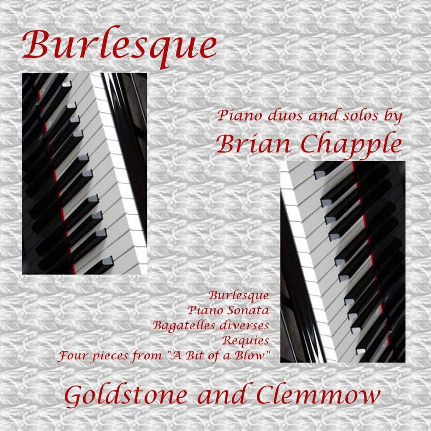 Brian Chapple Piano Music