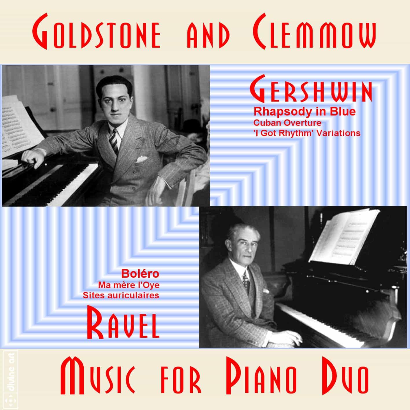 Gershwin & Ravel Piano Duo
