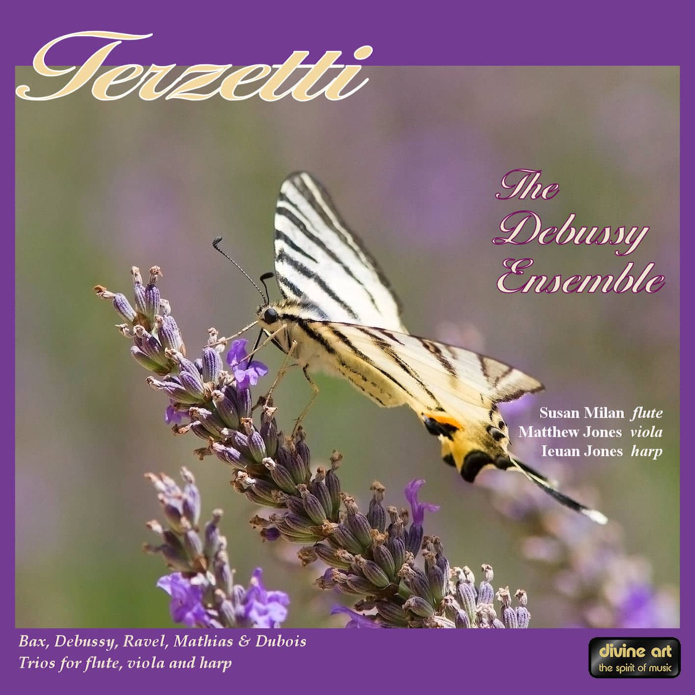 Terzetti: Trios for flute, viola and harp