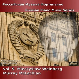 Russian Piano Music, vol. 9 - Weinberg I
