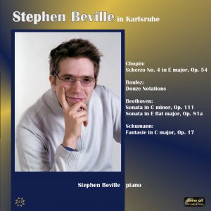Stephen Beville in Karlsruhe (2CD for price of 1)