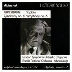 Sibelius Symphonies 5 & 6, Tapiola