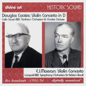 Coates and Moeran: Violin Concertos
