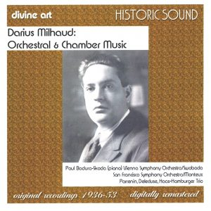 Milhaud: Orchestral Music