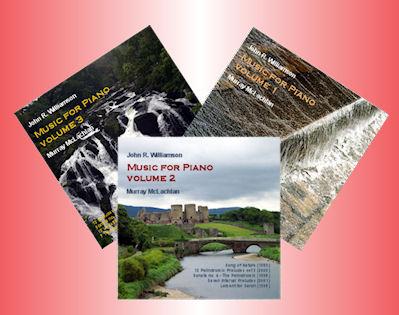 J R Williamson - Music for PIano, vols 1-3