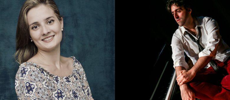 Alfonso Soldano and Stefania Argentieri