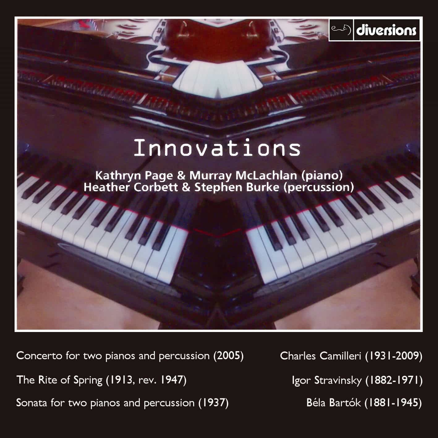 Innovations - music for two pianos and percussion