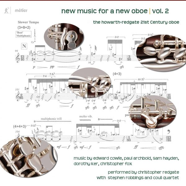 New Music New Oboe review | Review | Divine Art Recordings